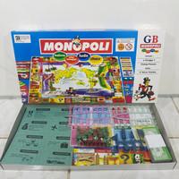 Monopoli Gaya Baru Biru 5 in 1