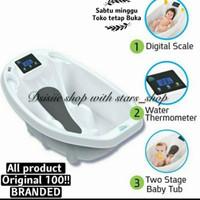 Aqua Scale 3 In 1 Baby Bath Original / Bak Mandi Bayi Digital Buniusb