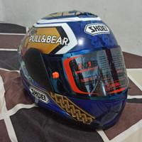 Helm Ink Cl Max Repaint Shoei Motegi Marquez Airbrush Paket Ganteng