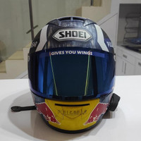 Helm Ink Cl Max Repaint Shoei X-14 Motegi 3 Full Custom Modif Matte