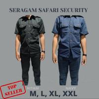 Seragam Baju Setelan Satpam / Security / Supir / Bodyguard / Safari