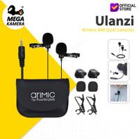 Ulanzi Arimic 6M Dual Lavalier Lapel Microphone Clip-On HP - Kamera