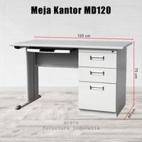 meja kantor besi md 120