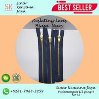 Resleting Jeans / Levis NAVY Biasa - 5