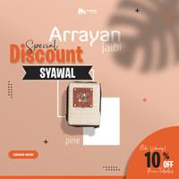 Al Quran Terjemahan Tilawa Ar Rayyan Pocket A7 Men Cover Keren & Unik