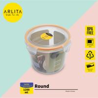 ARLITA SHINE SERIES |PLASTIC CONTAINER ROUND