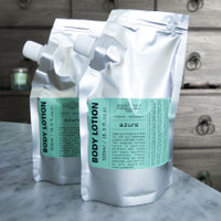REFILL POUCH Moisturizing BODY LOTION 500ml - AZURE - Republic of Soap