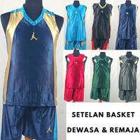 Baju Kaos Jersey Singlet Bola Basket/Basketball Paragon Dewasa Remaja