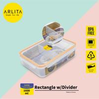 ARLITA SHINE SERIES |PLASTIC CONTAINER RECTANGLE