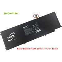 Baterai Battery Laptop Razer Blade Stealth 2016 V2 I7-7500u Rc30-0196