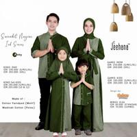 Baju Sarimbit Couple Keluarga Muslim Family Set Lebaran Nayran Jhn