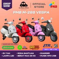 Mainan Anak Motor Aki VESPA VESTIC PMB M228 MURAH