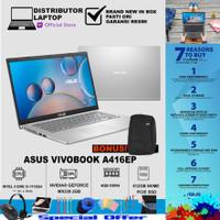Laptop Asus Vivobook A416EP FHD351 - i3-1115G4 MX330 4GB 512GB 14 FHD - Non Bundle