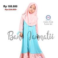 Gamis Anak Princess Kyara   Gamis Muslim Anak   Baju Muslim Anak - 3-4 tahun, 805 Peach