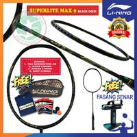 LINING SUPERLITE MAX 9 RAKET BADMINTON ORIGINAL