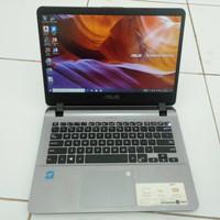 Laptop Asus Vivobook X407MA Celeron N4000 Ram4gb Hdd1tb Slim Normal