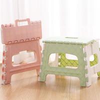 Fraju  bangku kursi lipat lipet plastik tangga awet kuat stool premium