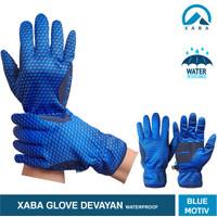 Glove XABA Devayan Series Summit - Sarung Tangan Waterproof - Biru, L