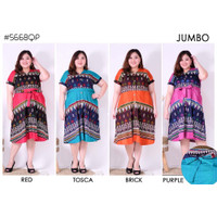 435 Dress Batik Super Jumbo Bigsize Baju Atasan Wanita Big Size vol 9