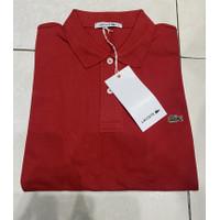 Kaos Kerah Lacoste Import Original - Polo Shirt