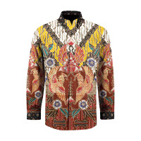 Kain Batik Berbahan Katun Primiss Motif Parang Perada ORA-J332