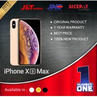 IPHONE XS MAX 256GB 256 GARANSI 1 TAHUN TERMURAH GOLD SILVER GREY - Gold, 256 gb