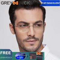 Grey Jack kacamata anti radiasi blue ray komputer HP Tv fashion 5018