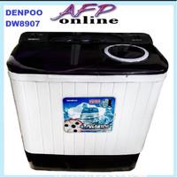 DENPOO MESIN CUCI DW 8907 4P 8KG 2 TABUNG