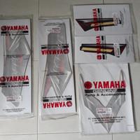 striping sticker list rx king 2008 merah original yamaha