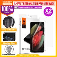 Anti Gores Hydrogel Spigen Samsung Galaxy S21 Ultra Plus Neo Flex