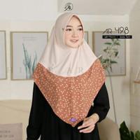 Jilbab Hijab Instan Arrafi AR 498 ORI Kerudung Bergo Instan Terbaru