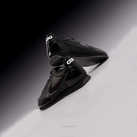 Sepatu NIKE Night Track CDG Black - 9.5