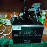 reel spinning+daiwa balistic LT 3000D cxh Japan+bekas