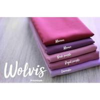 Kain Wolfis Woolpeach Premium 0.5 Meter - Bahan Wolpeach (Seri 1)