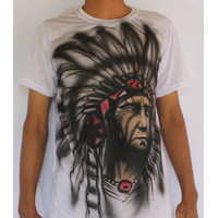 Baju Airbrush/Kaos Airbrush Indian Termurah (Pria&Wanita)