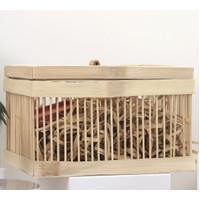 Square Bamboo Box