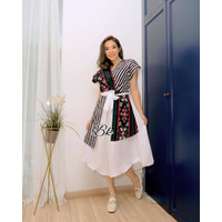 BAJU BATIK/DRESS/TUNIK/BAJU WANITA/BAJU CEWEK ANDIN TERLARIS MOTIF