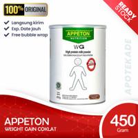 appeton weight gain wg adult 450 gram coklat