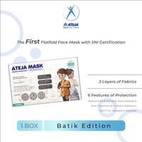 Masker Ateja - Premium - Masker Batik - Masker Non Medis