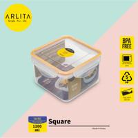 ARLITA SHINE SERIES |PLASTIC CONTAINER SQUARE