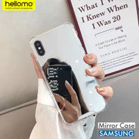 Anti Crack Casing Mirror Kaca Samsung / Anticrack Case Cermin Samsung - A20S