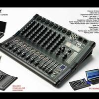 Mixer audio Ashley LM8/LM-8 8channel original