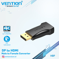 VENTION Converter DP Male to HDMI Female Gold Plated