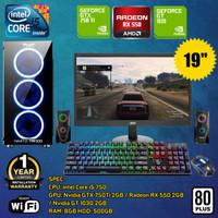PC GAMING RAKITAN FULL SET | Intel Core i5 750 | RAM 8GB | GTX | RX