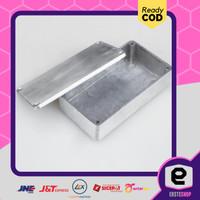 Promo Kotak Casing Aluminium Metal Stomp untuk Pedal Efek Gitar - 1590