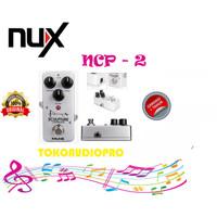 nux sculpture ncp2 ncp-2 ncp 2 efek gitar compressor