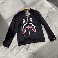 Sweater Crewneck Bape Shark WGM Big Embroidery