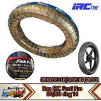 BAN IRC FASTI PRO 90/80 RING 14 racing compound