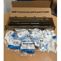 AMP Commscope Patch panel 24 port cat6A ORIGINAL / patch panel cat6A