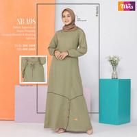 NIBRAS NB A98 nbrs dress gamis syari pakaian muslim wanita